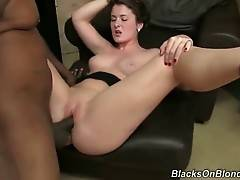 Eden Young Spreads Legs For Her New Black Friend 1