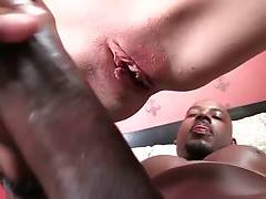 Young White Slut Enjoys Massive Black Cock 3