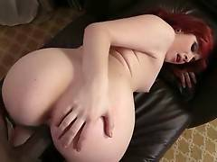 Booty White Chick Enjoys Massive Black Dick 2