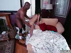 Sexy Tia Cyrus and horny Prince Yahshua perform amazing good fucking.