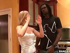 White Sweetie Starves For Big Black Cock 2
