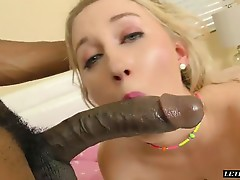 Bbc Loving Blonde Getting Nailed Really Hard