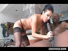 Lexington Steele Deeply Drills Hot White Babe 1