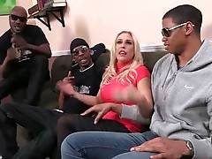 Awesome Angel Allwood Is Fond Of Big Black Cocks 1